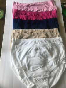 NWOT Lot of 10  Fruit Of The Loom Fit For Me Women's Panties Size 10 Breathable