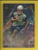 James White RC 2014 Topps Valor Rookie Card # 114 New England Patriots NFL RB