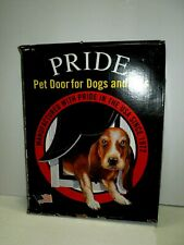 Pride Pet Door Dogs and Cats MD400 Medium White