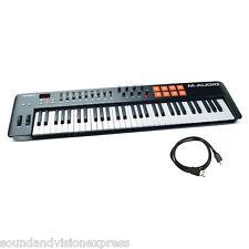 M-Audio Oxygen 61 MK IV USB MIDI Keyboard Controller 61-Key + Pads + 3x Software