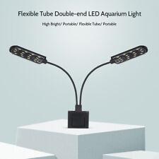LED Acquario Askoll Accessoriato 15W Luce Lampada Lamp Flessibile Bianco