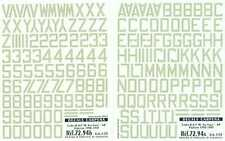 Colorado Decals 1/72 R.A.F. FIGHTER CODES SEA GRAY 48""