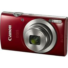 CANON IXUS 185 20.0 megapixels with 8x Optical Zoom with 16x ZoomPlus (RED) SMP