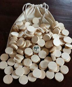 Eselspiel ~121  Blanco Spielsteine ~ zum Selbstgestalten