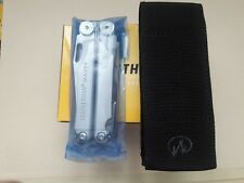 Leatherman WAVE PLUS Multi Tool New In Box With Molle Sheath FREE SHIPPING