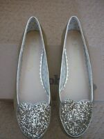 JOHNNIE B BODEN GIRLS WOMENS HEART BALLET FLATS PUMPS SHOES UK 2, EUR 35 60027