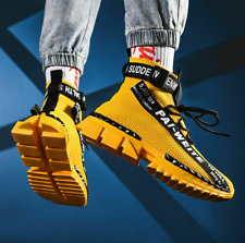 Men's Fashion Running Shoes Sport Tennis Outdoor High top Casual Sneakers Gym