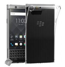 Housse etui coque silicone gel fine Blackberry Keyone + film ecran TRANSPARENT T