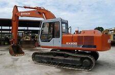 Hitachi EX200-1 Excavator / Digger Parts Manual