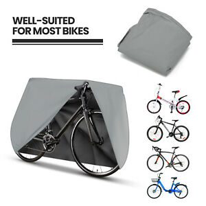 Mountain Bike Bicycle Rain Cover Waterproof Heavy Duty Silver Cycle Cover UK