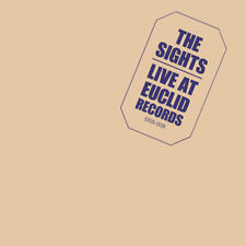 "THE SIGHTS LIVE AT EUCLID RECORDS 10"" LP VINYLE VINYL INSERT INCLUDED"