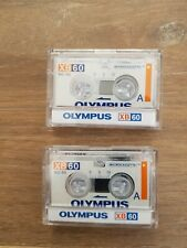 More details for 2 x olympus xb60 / mc-60 microcassette tapes - new in their original plastic box