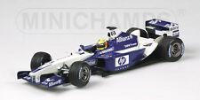 WILLIAMS F1 BMW FW24 2002 R. SCHUMACHER 2ND HALF OF SEASON MINICHAMPS 1/18 NEW
