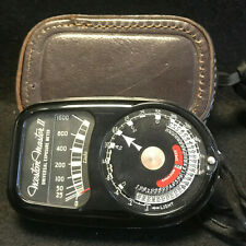 Vtg Weston Master II Universal Exposure Meter Model 735 with Case