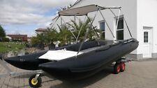 Schlauchboot - Cat, Katamaran, Motorboot, Schlauchboot, Wassersport, Bade Boot