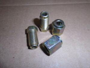 Triumph TR7 TR8 etc.** BRAKE UNION NUT FEMALE/MALE x 2 pair ** M10 x 1mm