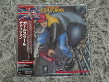 GIRLSCHOOL  DEMOLITION RARE OOP JAPAN MINI-LP SHM-CD