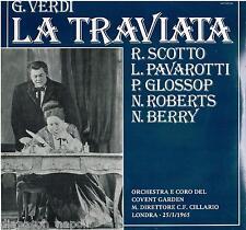 Verdi: La Traviata / Cillario, Scotto, Pavarotti, Glossop - LP