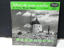 FERNANDEL Les lettres de mon moulin Les trois messes basses  DECCA 460611