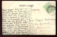 Scotland Orkney 1909 PPC fine STOMNESS postmark local use nice message