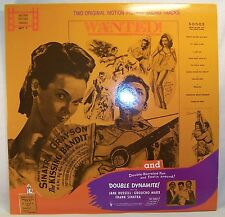 Frank Sinatra KISSING BANDIT/DOUBLE DYNAMITE Mint Film Soundtracks Vinyl LP