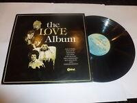 THE LOVE ALBUM - 1980 UK 20-track vinyl LP compilation