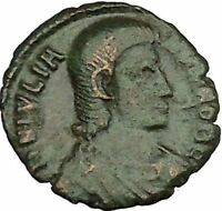 Julian II as Caesar 355AD Authentic Ancient Roman Coin Battle Horse man i40003