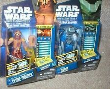 STAR WARS FLAMETHROWER CLONE TROOPER & AQUA DROID MOCS