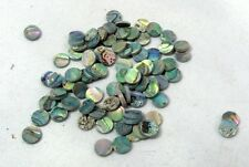 Green Abalone Inlay Material 60 pieces Dots 8mm VG8@*
