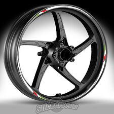 Adesivi ruote moto per APRILIA DORSODURO - strisce RACING 7 cerchi stickers RSV4
