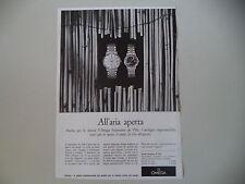 advertising Pubblicità 1966 OROLOGIO OMEGA SEAMASTER DE VILLE