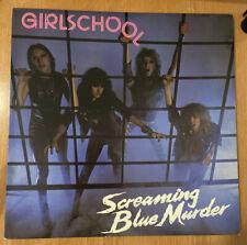 Girlschool Screaming Blue Murder Vinyl Lp Record Metal Import