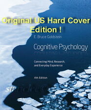 NEW 3 Days to AUS Cognitive Psychology 4E E. Bruce Goldstein 4th US H/C Edition