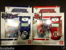 Bandai Digimon Xros Wars BLUE+RED Fusion Loader ENGLISH Digivice Data Link NEO