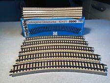 Märklin H0 M-Gleise 5200 grosser Parallelkreis 10 Stück - neuwertig - blaue OVP
