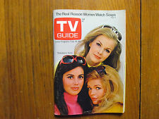Feb. 14, 1970 TV Guide (BRACKEN'S WORLD/LINDA HARRISON/DICK CLARK/BURR TILLSTROM