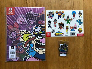 WarioWare: Get It Together! Nintendo Switch Poster, Stickers , Keyring