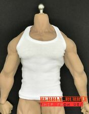 1/6 Men Tank Top For PHICEN M30 M31 M32 M33 M34 M35 Hot Toys Muscular Figure USA
