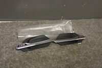 *NEW* GENUINE BMW M2 F87 WING BADGES LEFT & RIGHT (PAIR) CHROME 8062198 8062197
