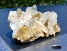 "3"" X 3"" Coxcomb Siderite & Calcite W/ Cent.Quartz Crystal - M.G.,Brazil"