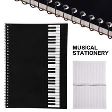 Music Sheet Stave Notebook A4 Manuscript Staff Paper Composition Book 100 Pages