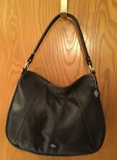 I SANTI BROWN LEATHER PURSE MADE IN ITALY