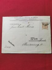 1898 Austria Stationary Letter Cover