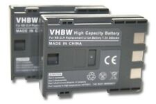 2x BATTERY for CANON NB-2L NB2L NB-2LH ACCU