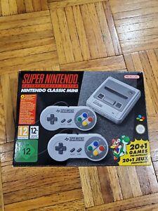 Nintendo Classic Mini SNES EU model (region free)