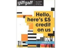 Giffgaff Mobile Phone Sim Card Car Tracker PAYG Vodafone Virgin Dongle z