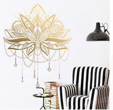 Mandala Lotus Vinyl Wall Stickers Unique Home Decor Bedroom Removable Wall Decal