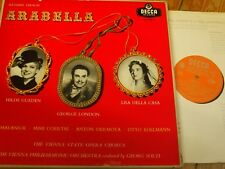 LXT 5403-6 Strauss Arabella / Gueden / London / Solti etc. GROOVED O/S 4 LP box