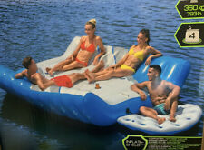 TOBIN SPORT HUGE GIANT INFLATABLE PACIFIC LOUNGE 4 PERSON FLOAT NEW SEALED