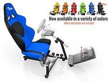 Openwheeler Racing Wheel Stand Cockpit Blue/Black | For Logitech G29 | G920 a...